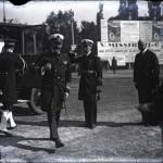 Regele Ferdinand I primit de generalul Alexandru Averescu, președintele Consiliului de Miniștri