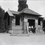 Pavilionul Cartea Românească. Vedere din timpul construcției