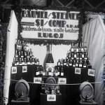 """Stand """"Baumel/Steiner și/ Comp. S.P.A., Destileria de țuică și alte beuturi, Lugoj"""