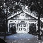 """Vedere asupra Pavilionului """"Frații Schiel Brașov"""